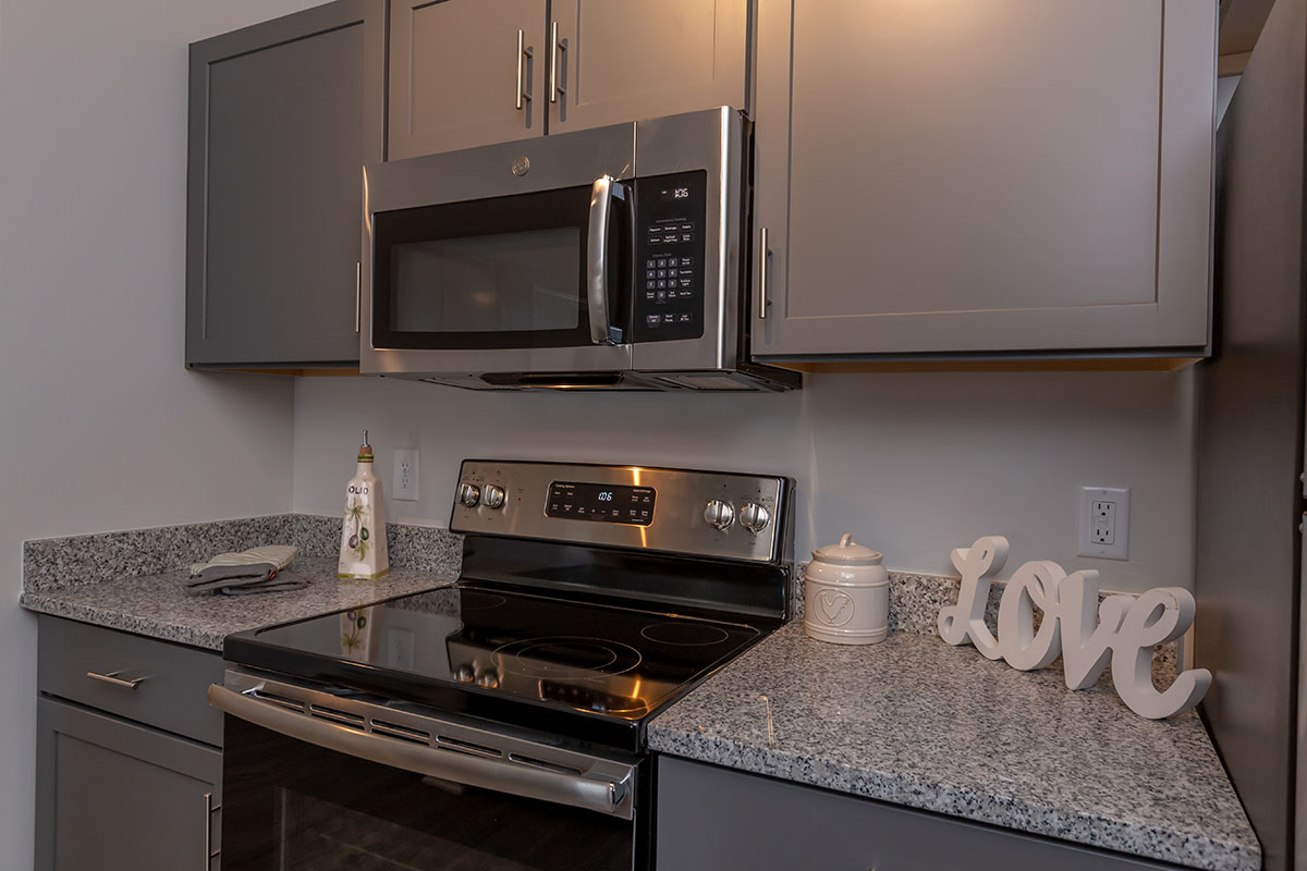 Beautifully Designed Kitchen At New Providence Park In Wilmington, NC