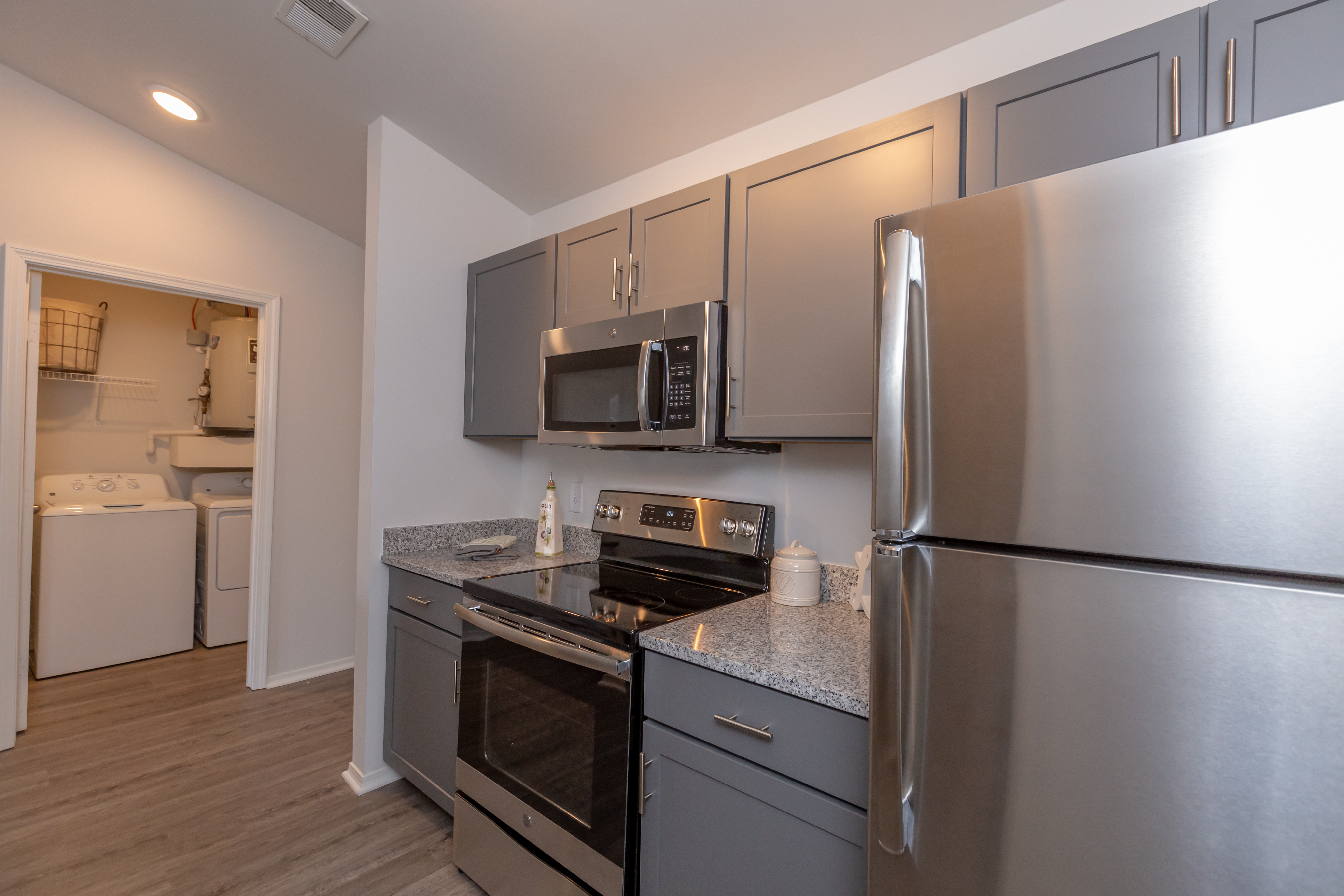 Enjoy A Full Size Washer And Dryer In-home At New Providence Park In Wilmington, NC