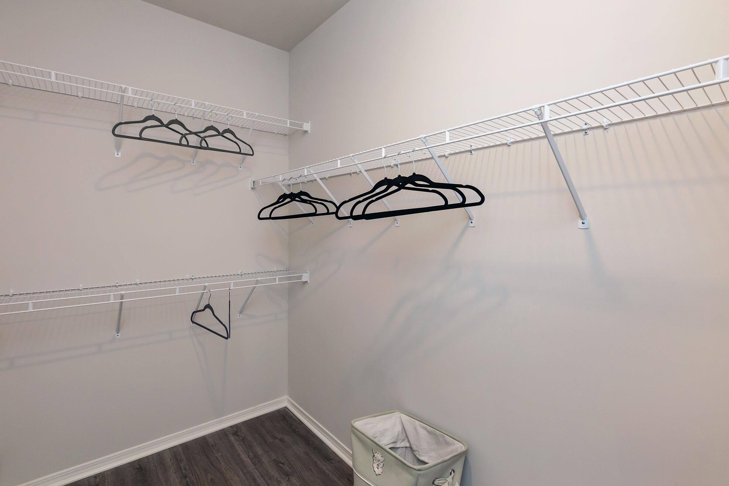 Enjoy Walk-in Closets At New Providence Park In Wilmington, NC