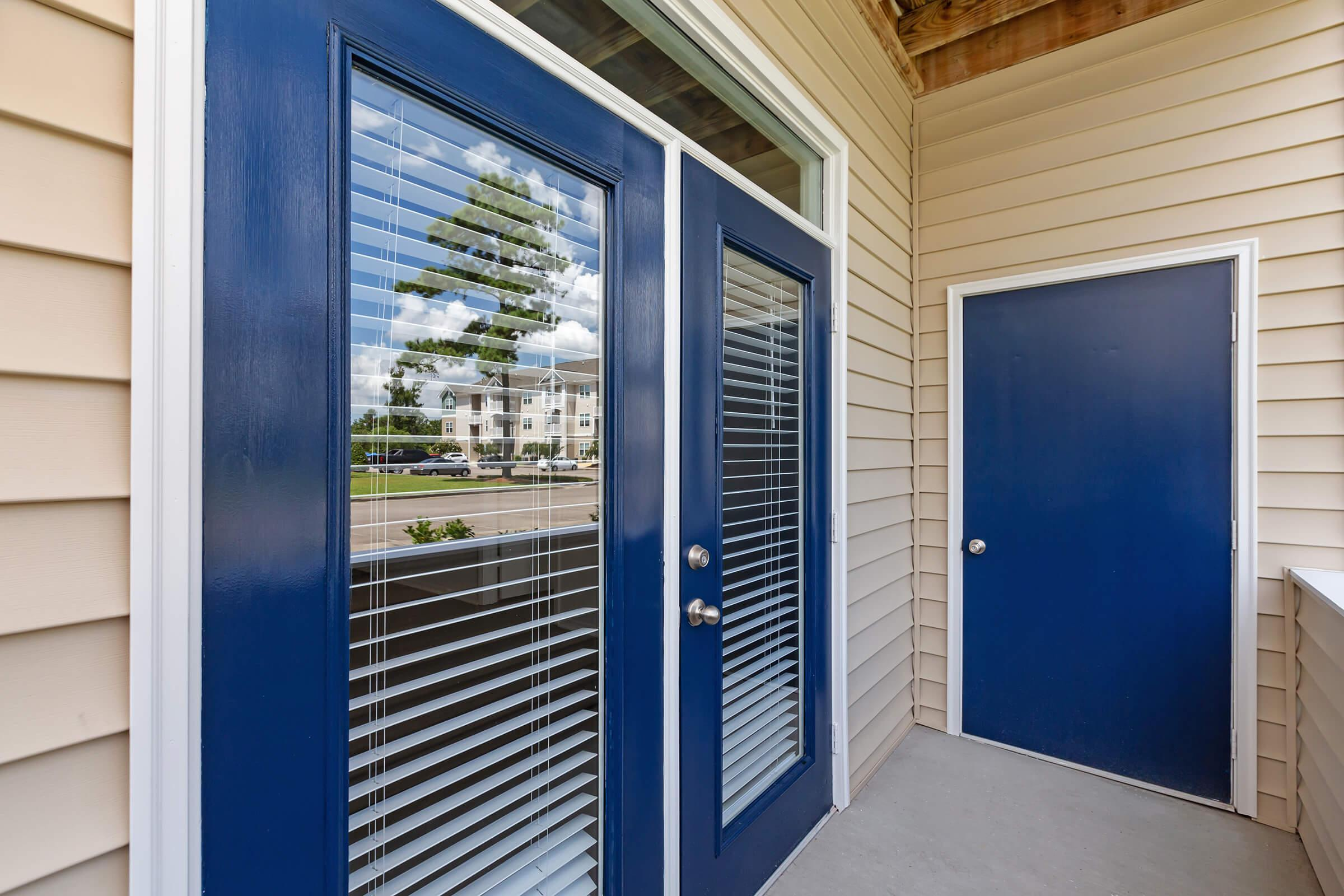 Extra Storage Room In Patio At New Providence Park In Wilmington, NC