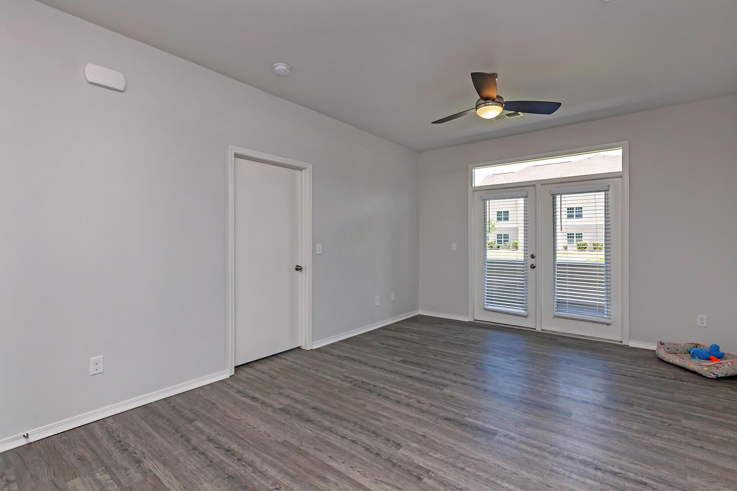 Spacious Living Room At New Providence Park In Wilmington, NC
