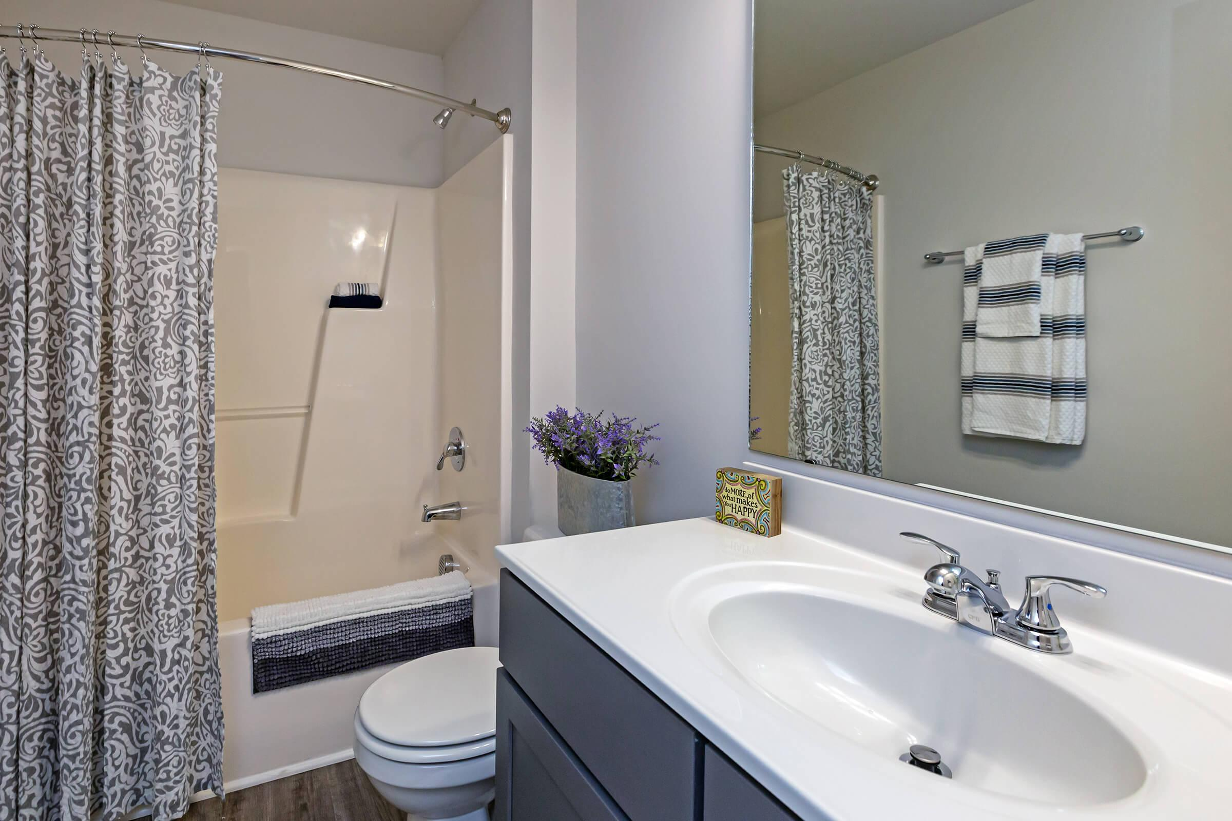 Spacious Bathroom At New Providence Park In Wilmington, NC