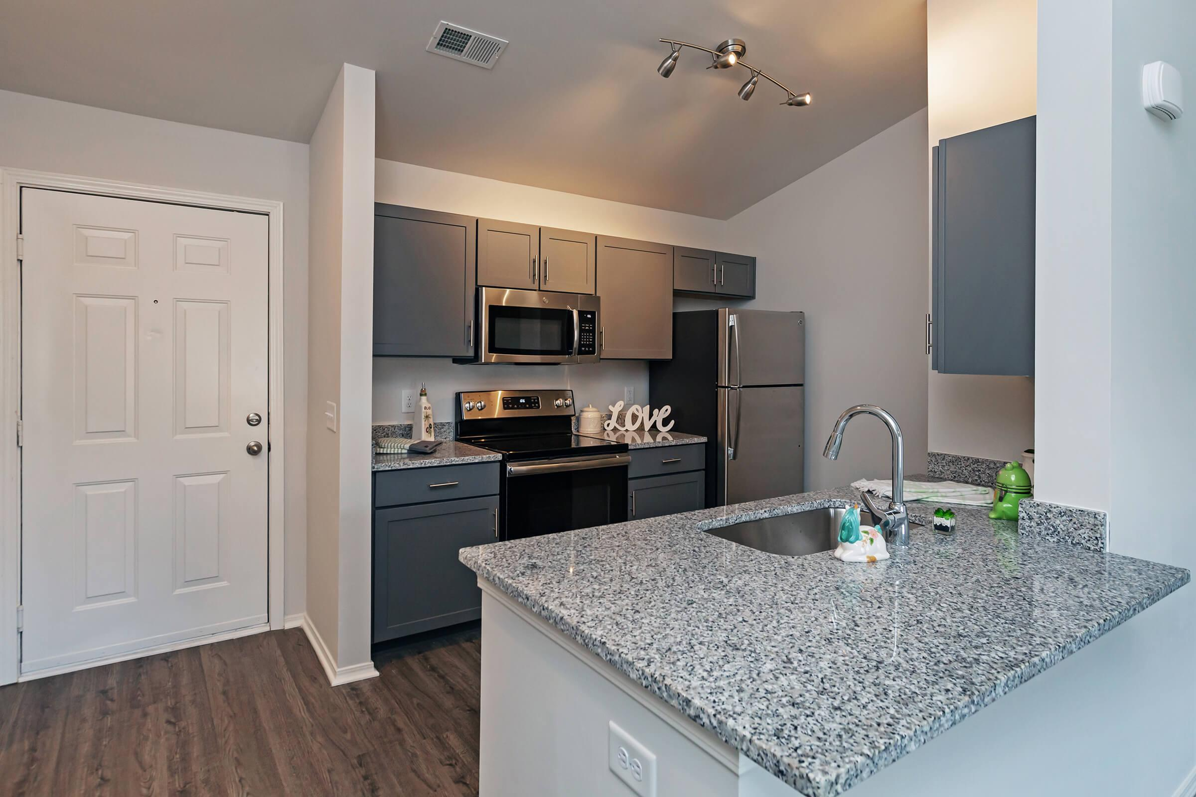 Spacious Kitchen At New Providence Park In Wilmington, NC