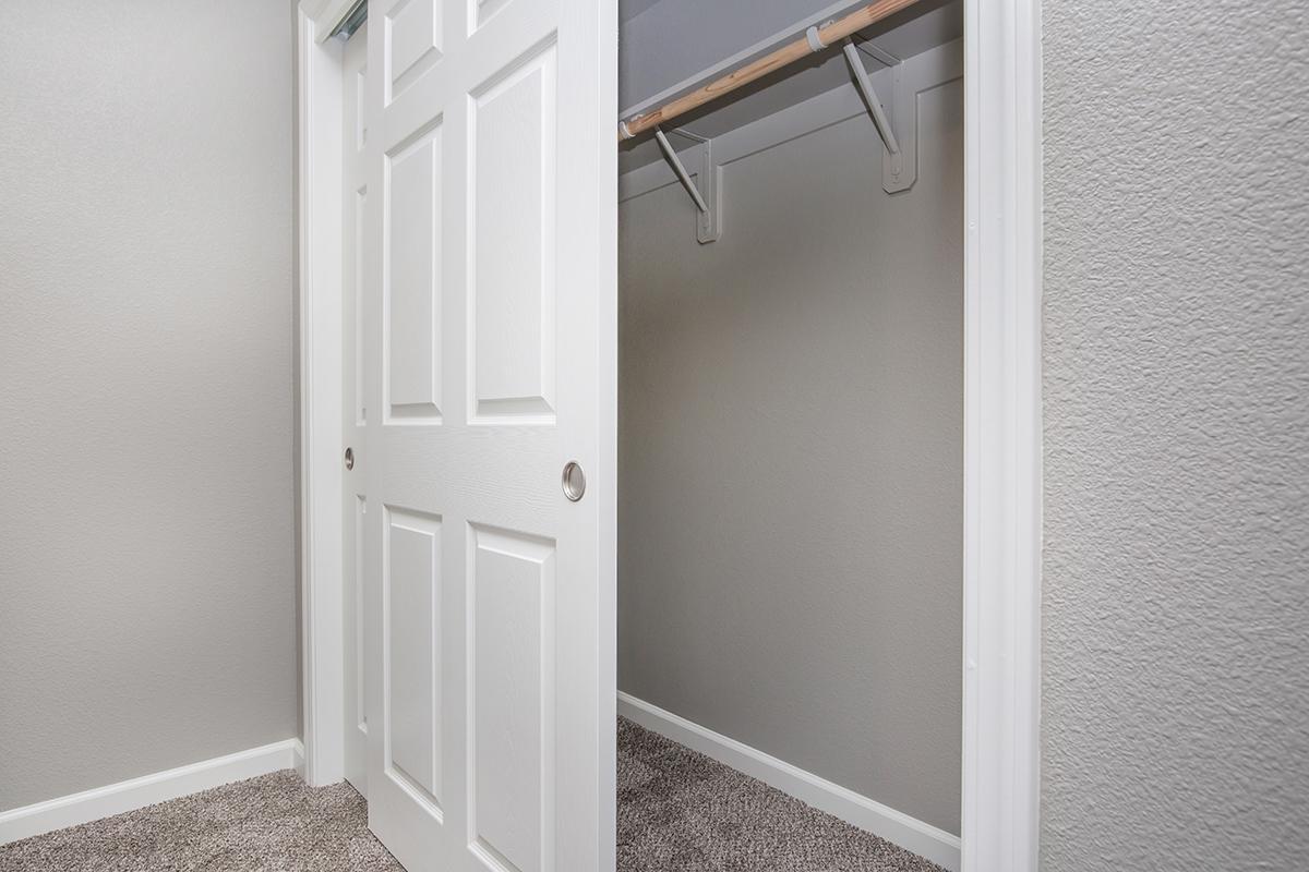 a close up of a door