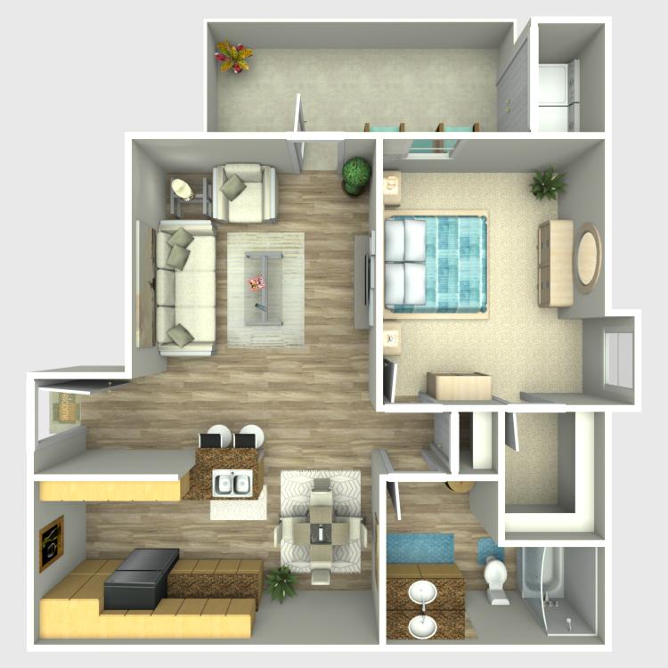 Floor plan image of A2-E