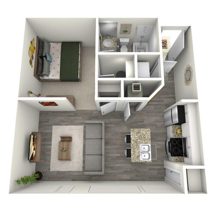 Floor plan image of Studio-Alt