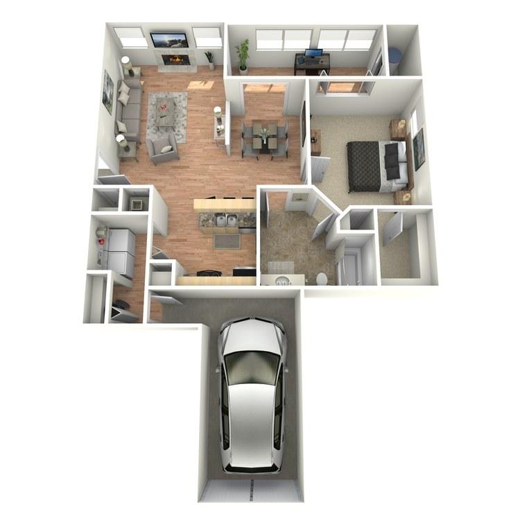 Floor plan image of Ambassador