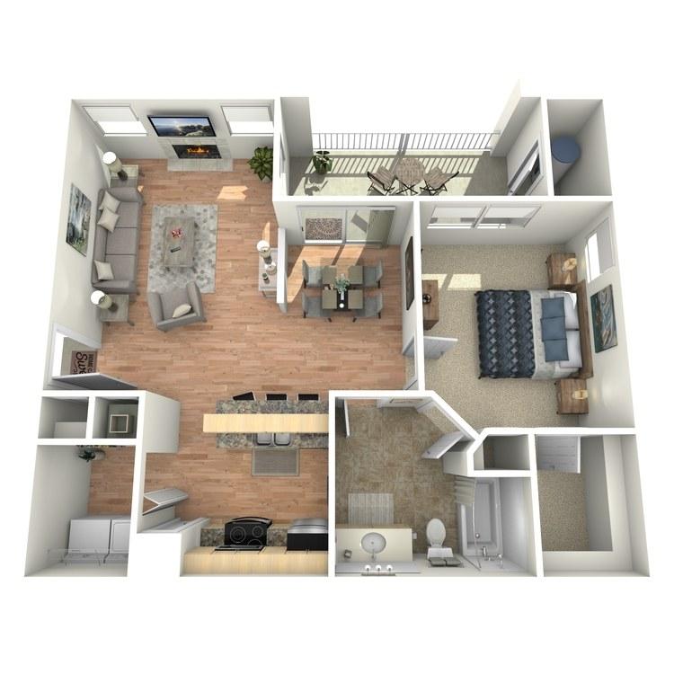 Floor plan image of Jefferson