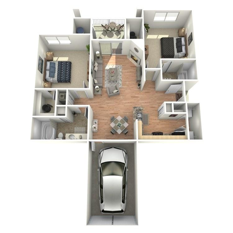 Floor plan image of Monticello