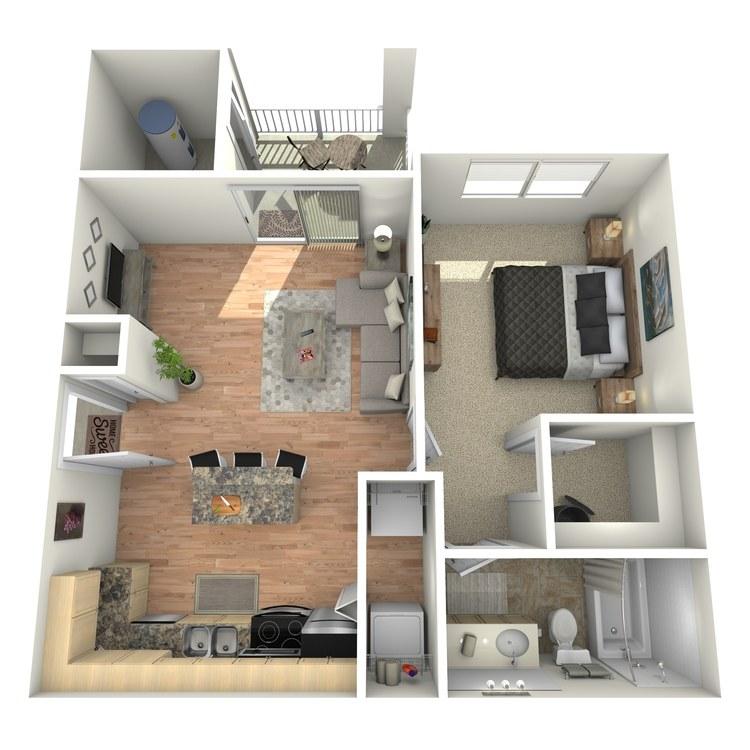 Floor plan image of Chancellor