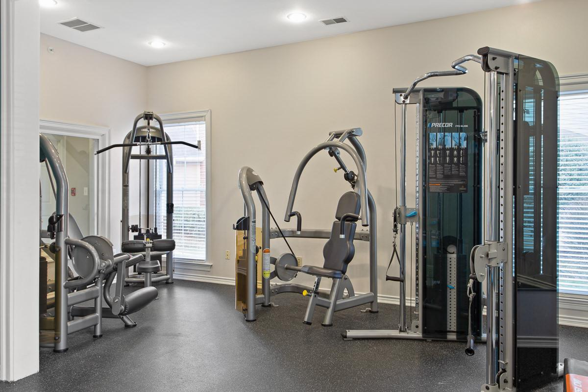 Fitness Center at The Jefferson at Fair Oaks Apartments in Fairfax VA