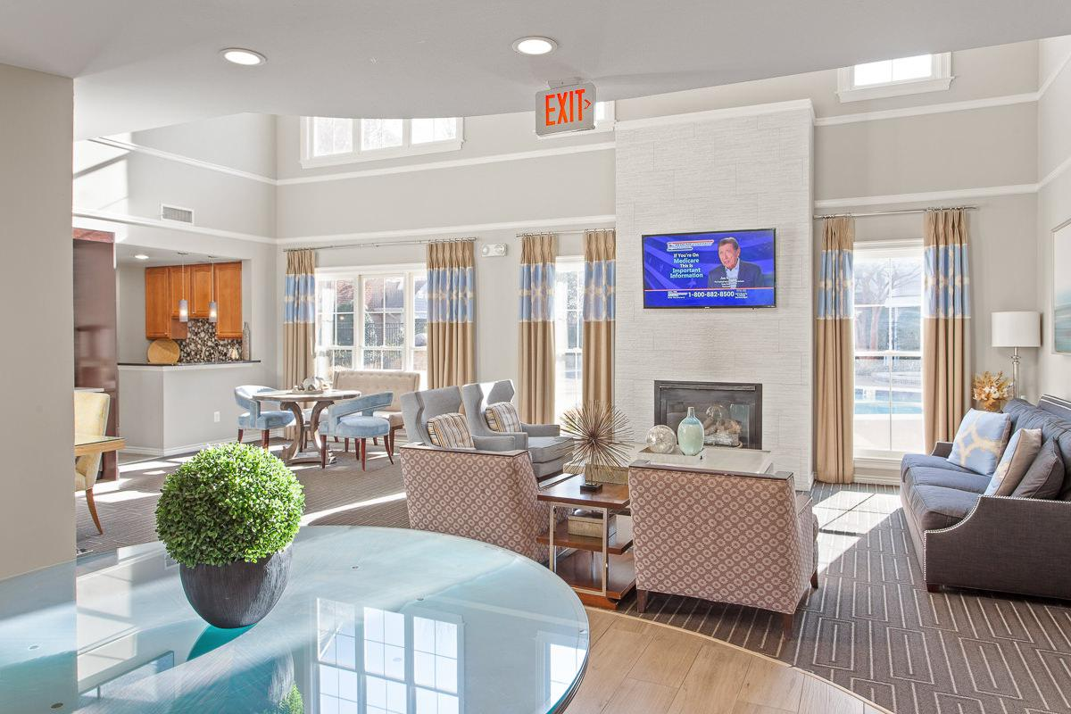 Leasing Office at The Jefferson at Fair Oaks Apartments in Fairfax VA