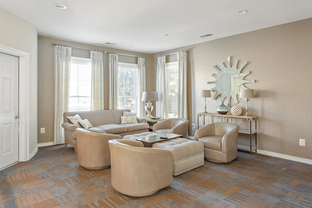 Living Room at The Jefferson at Fair Oaks Apartments in Fairfax VA