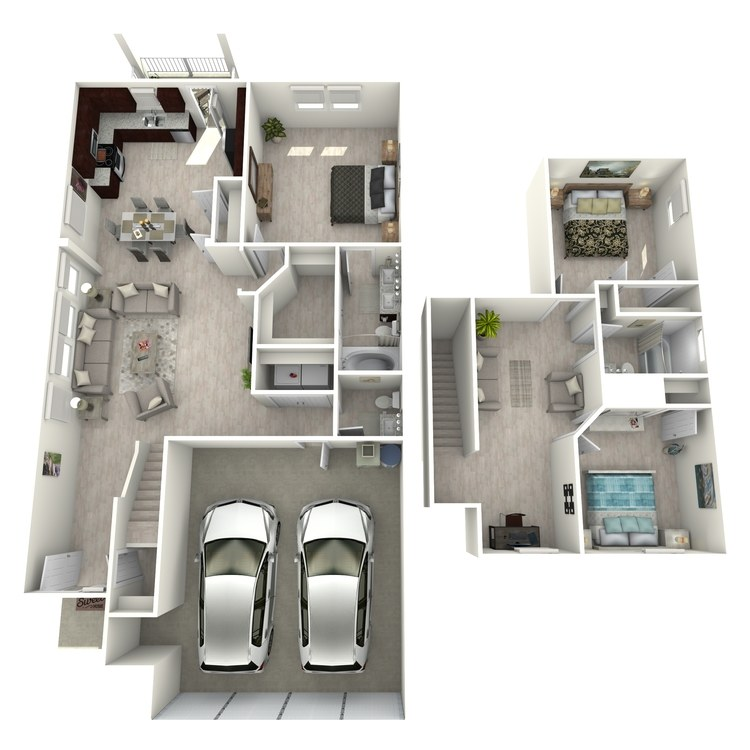 Floor plan image of D1