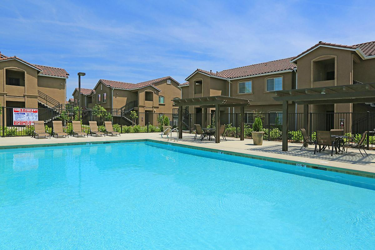 Enjoy some fun in the sun at our pool here at Greystone Apartments