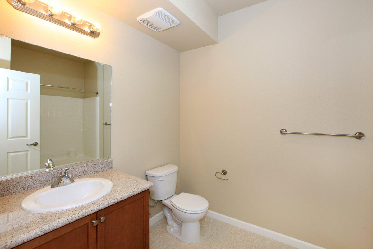 Greystone Apartments has modern bathrooms