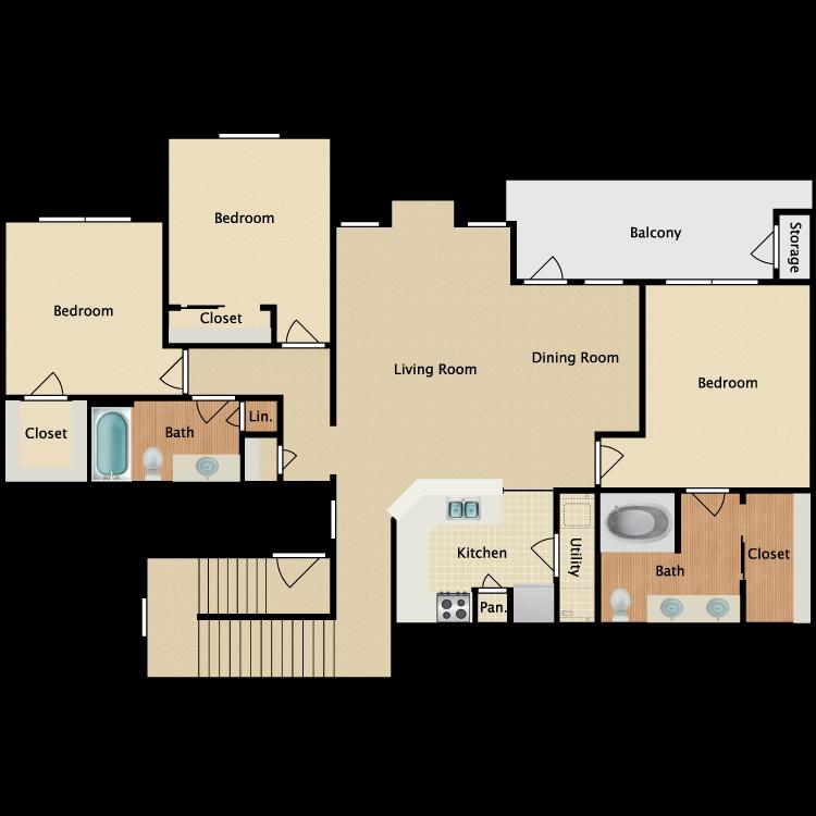 Plan C2 floor plan image