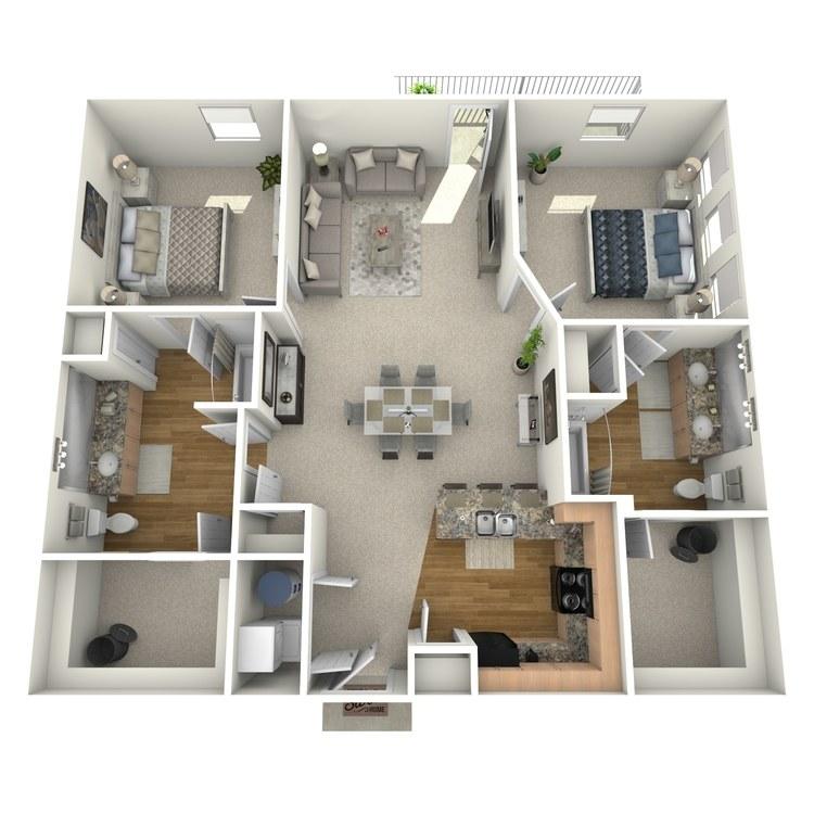 Floor plan image of Bulrush