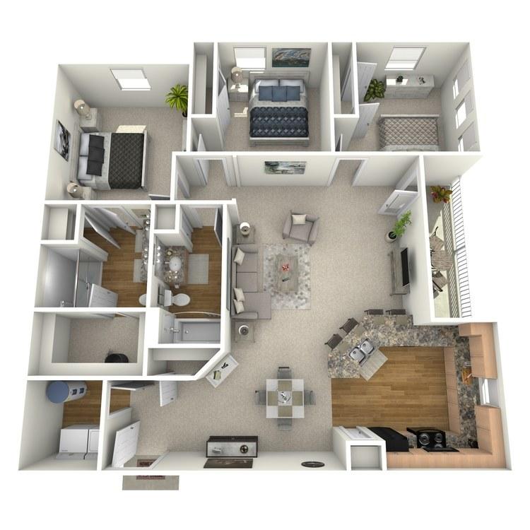 Floor plan image of Palmetto