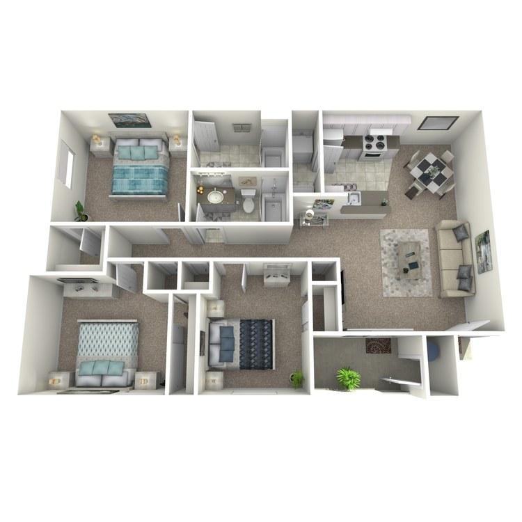 Floor plan image of The Veracruz