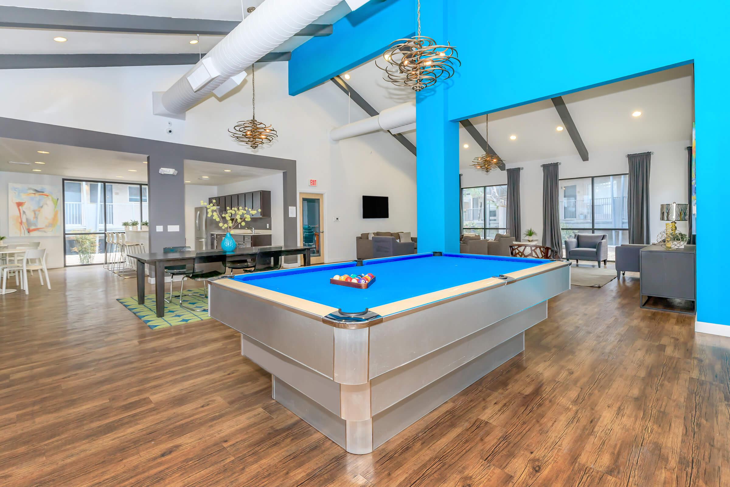 A GAME OF BILLIARDS ANYONE?