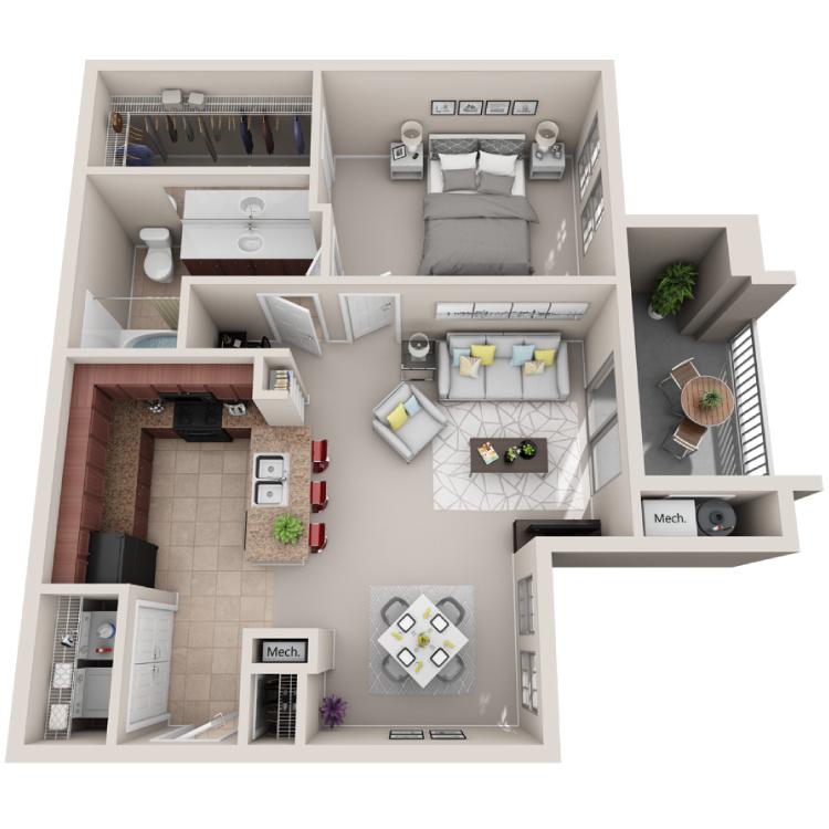 Floor plan image of The Allegro