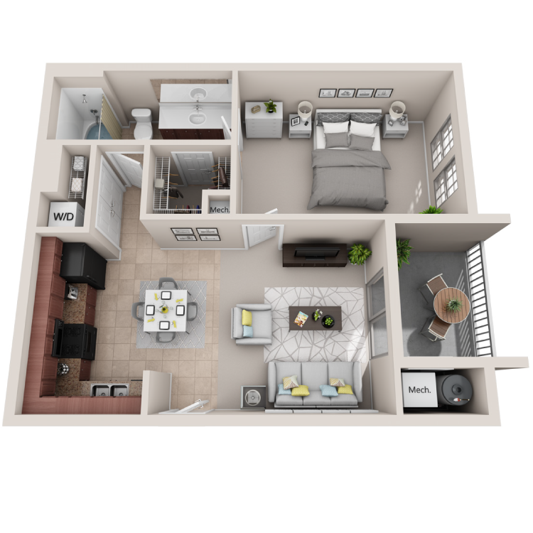 Floor plan image of The Solo