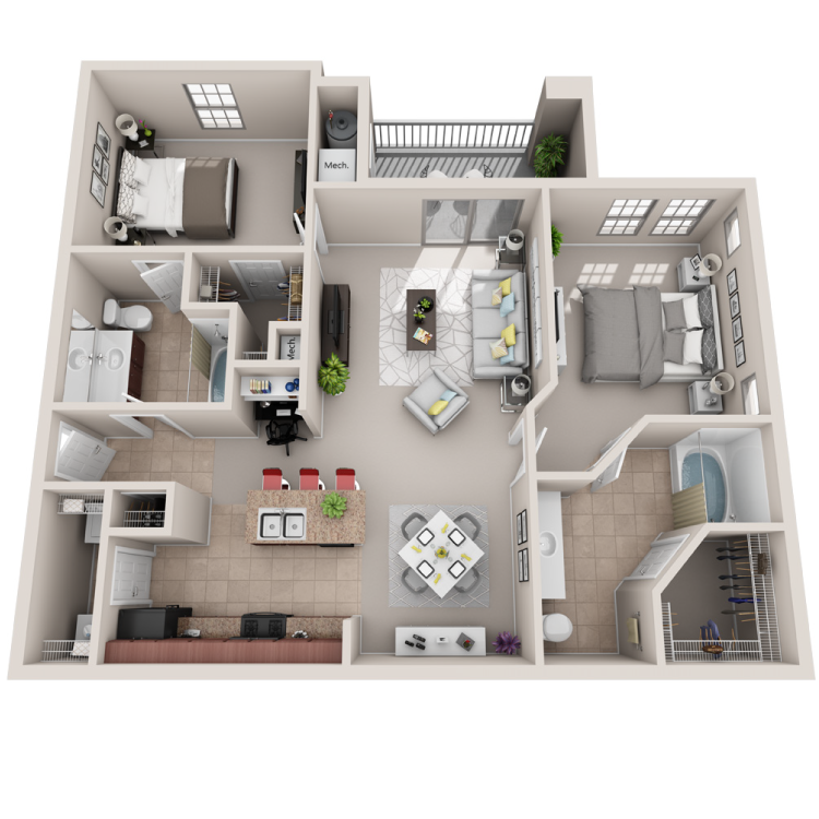 Floor plan image of The Virtuoso