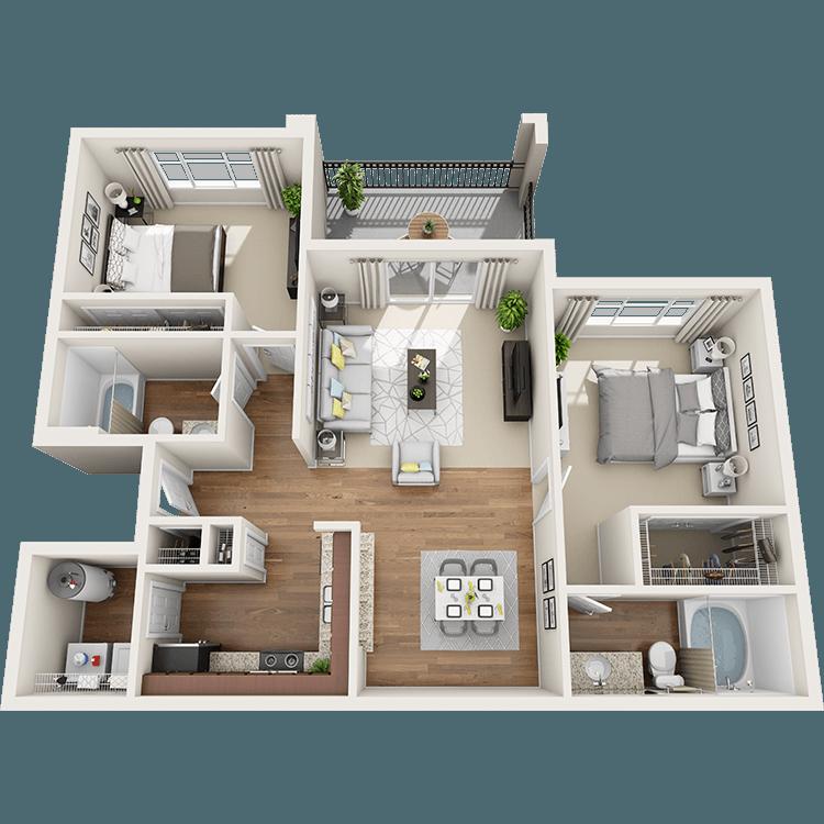 Floor plan image of Ocotillo