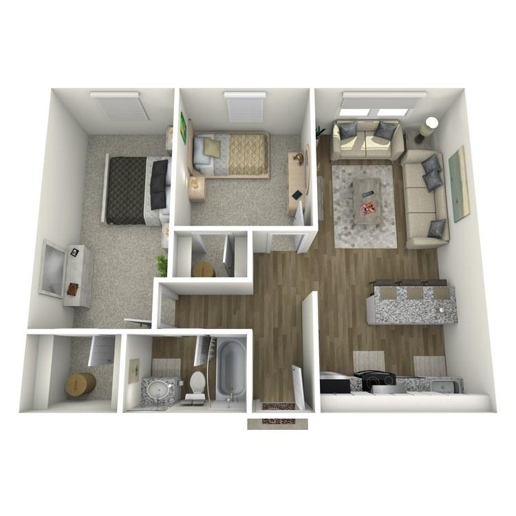 Floor plan image of Peak