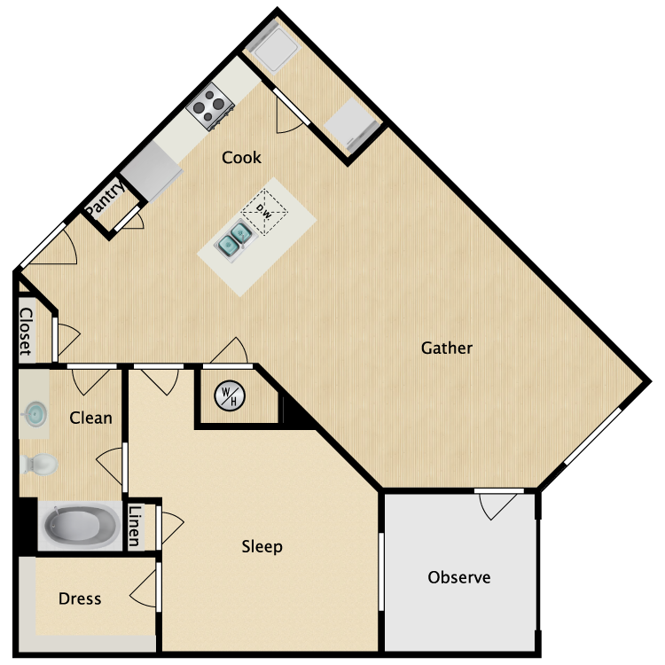 Floor plan image of Midtown
