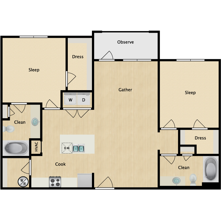 Floor plan image of Nolita