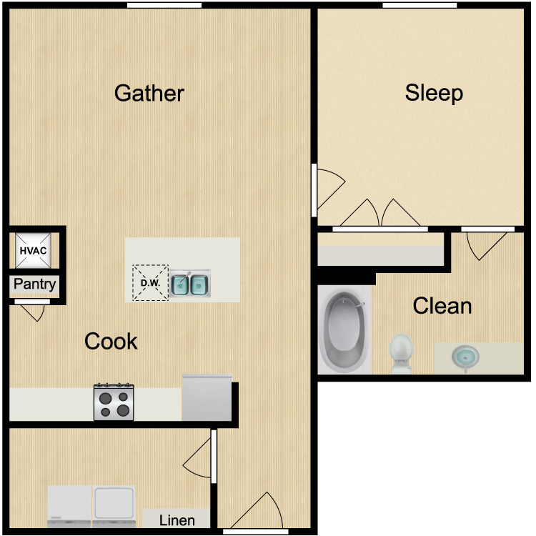 Floor plan image of Chelsea 2