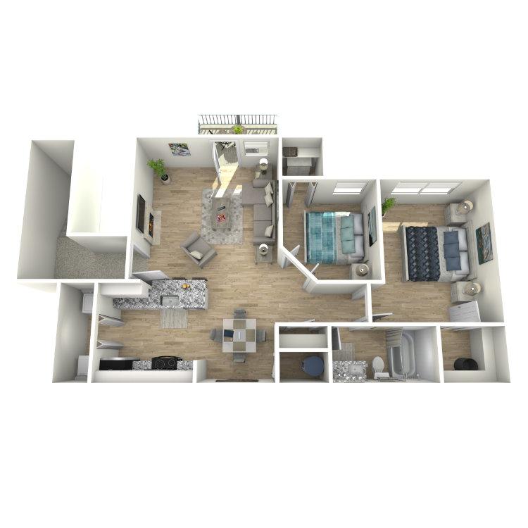 Floor plan image of B1