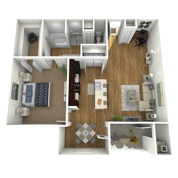 Floor plan image of Harbor