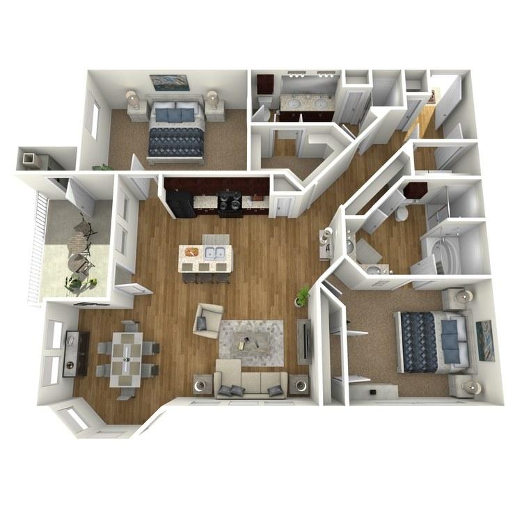 Floor plan image of Bay View