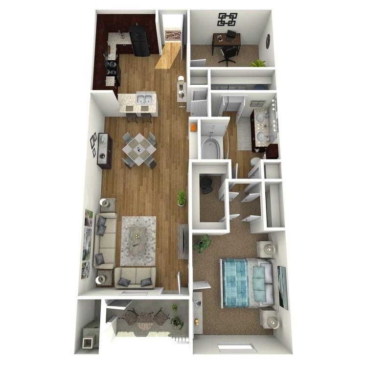 Floor plan image of Bay Breeze