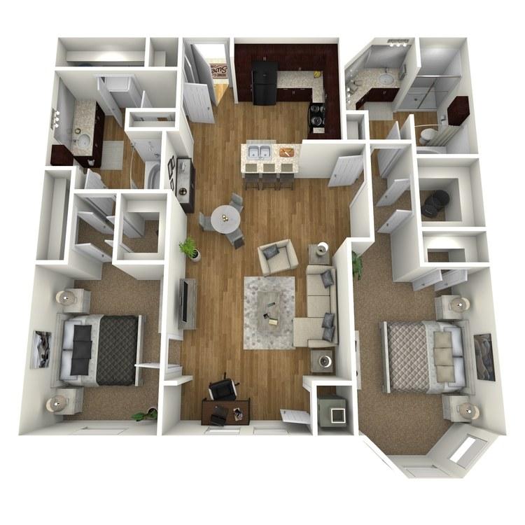 Floor plan image of Bayside