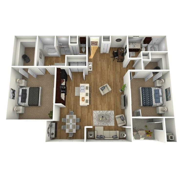 Floor plan image of Bay Bluff