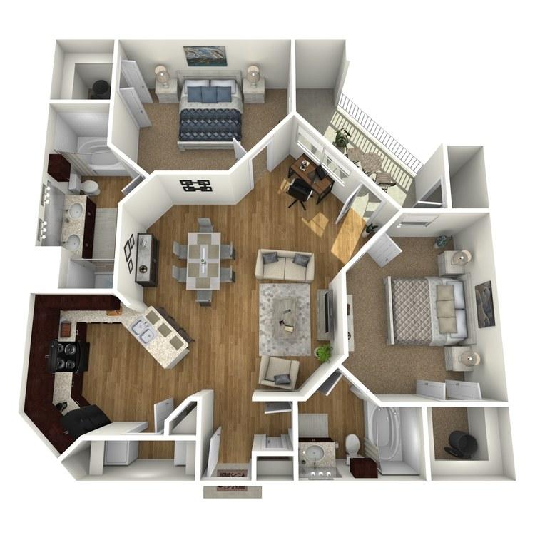Floor plan image of Islander A