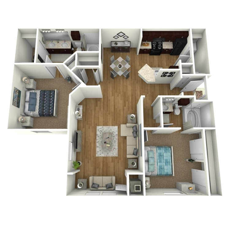 Floor plan image of Bay Front A