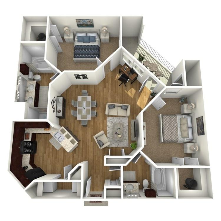 Floor plan image of Islander B