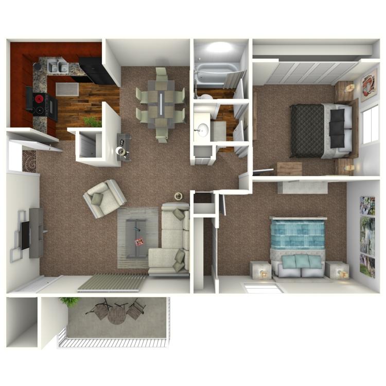 Floor plan image of The Dakota