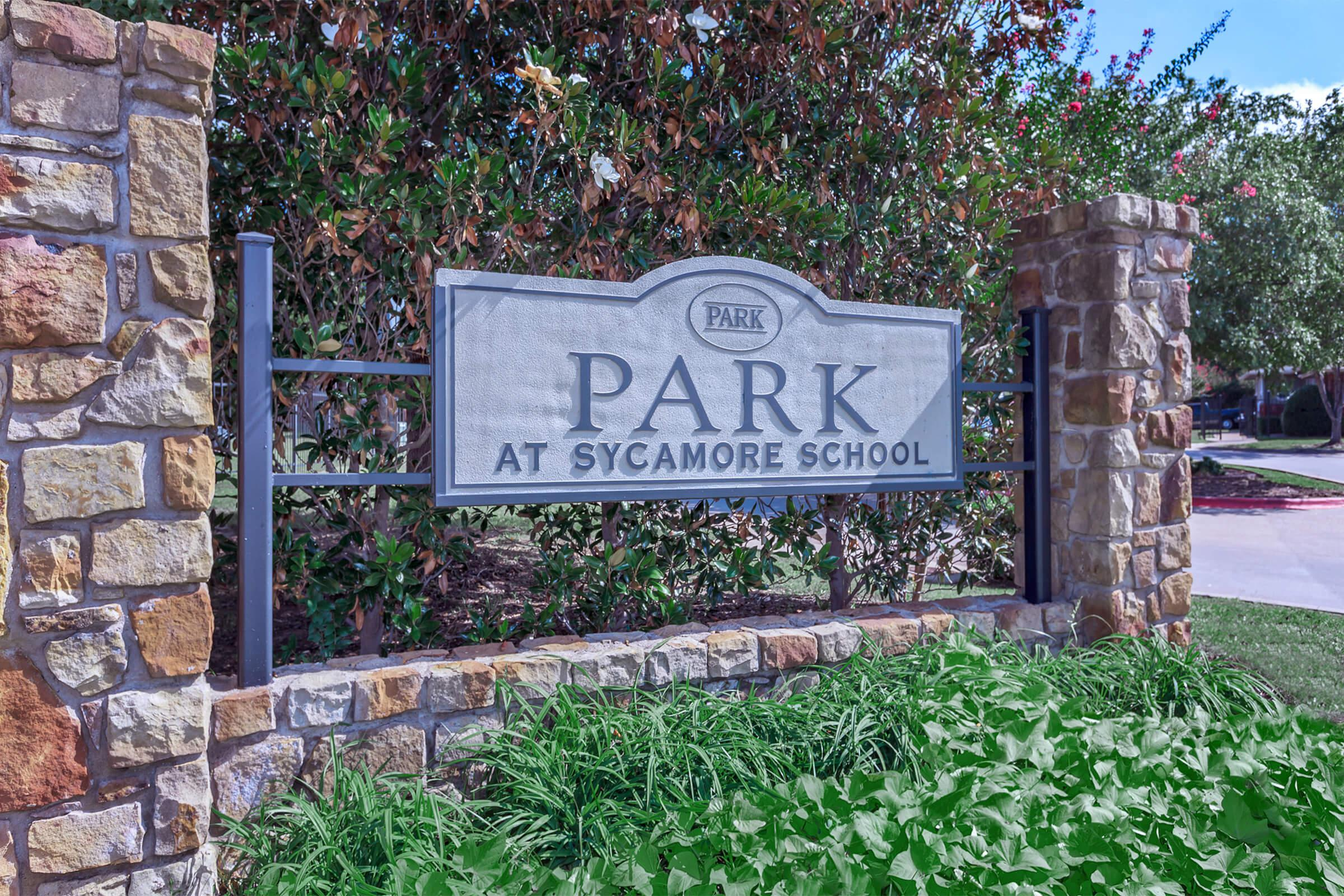 PARK AT SYCAMORE IN FORT WORTH, TX
