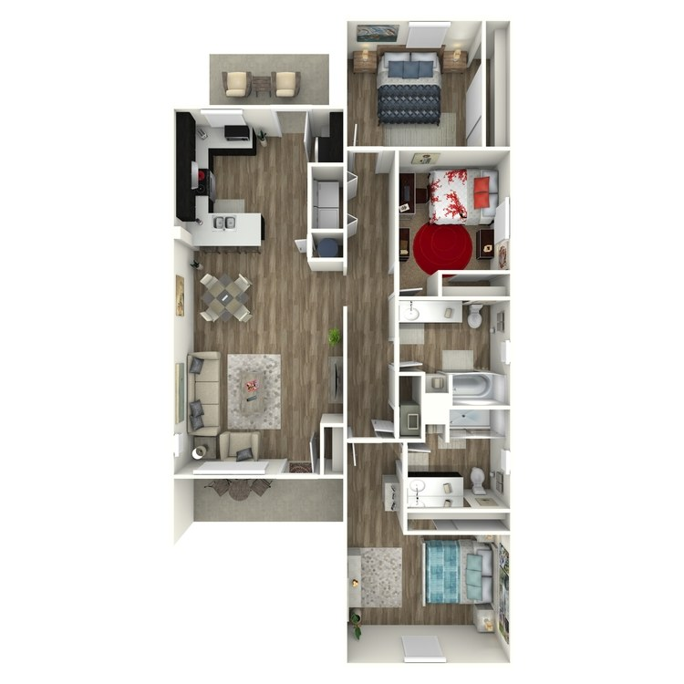 Legend floor plan image