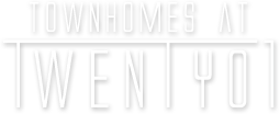 Townhomes at Twenty01 Logo
