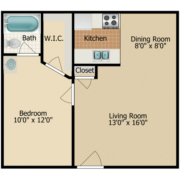 Floor plan image of Sugar Pine
