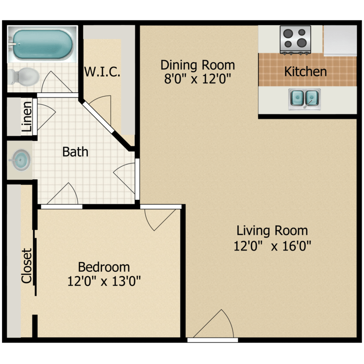 Floor plan image of Scots Pine