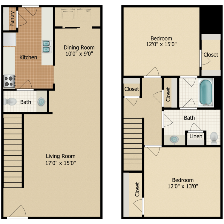 Floor plan image of Loblolly Pine