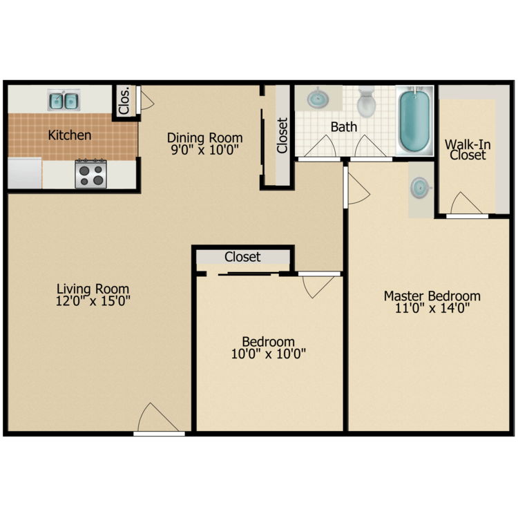 Floor plan image of Stone Pine